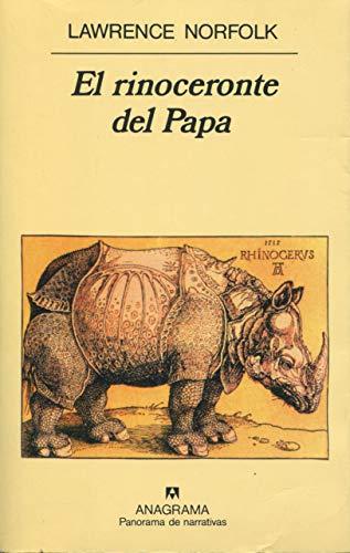 9788433908582: El Rinoceronte del Papa (Spanish Edition)