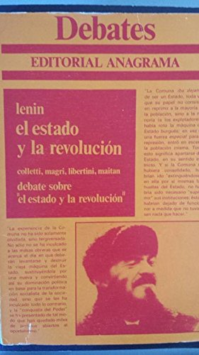 9788433909015: Estado y la revolucion, el