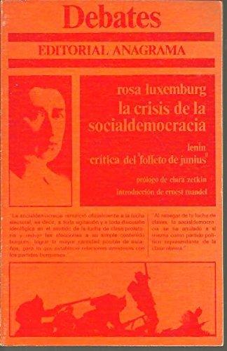 9788433909022: Crisis de la socialdemocracia, la