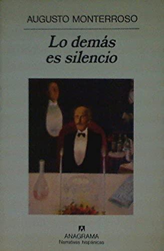 9788433909299: Demas Es Silencio, Lo