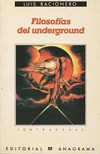 9788433912046: Filosofías del underground (Contraseñas)