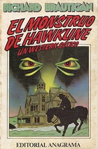 9788433912169: El monstruo de Hawkline (Un western gótico) (Contraseñas)