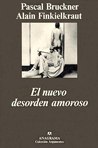 9788433913104: El Nuevo Desorden Amoroso (Spanish Edition)
