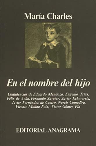 En El Nombre Del Hijo: María Charles. Eduardo