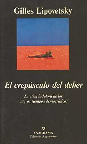 9788433913784: El Crepusculo del Deber (Spanish Edition)