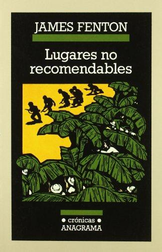 9788433925206: Lugares no recomendables (Crónicas)