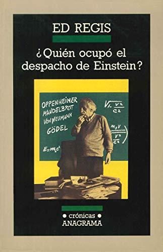 9788433925268: ¿Quién ocupó el despacho de Einstein? (Crónicas)