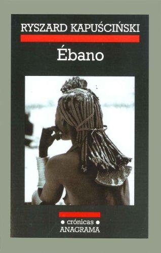 9788433925459: ebano (Crónicas / Chronicles) (Spanish Edition)