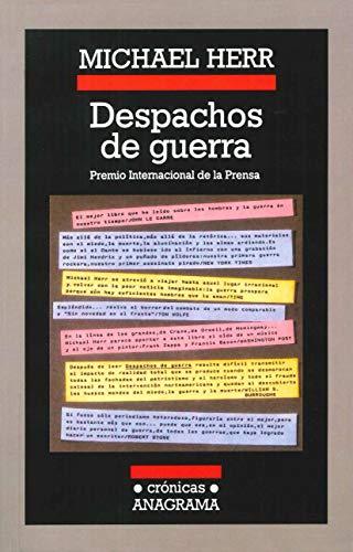 9788433925473: Despachos de guerra (Spanish Edition)