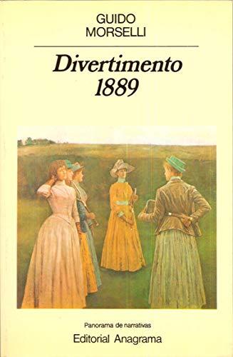 9788433930606: Divertimento 1889 (Panorama de narrativas)