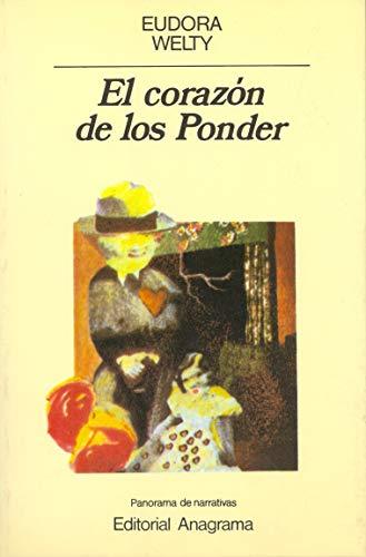 9788433930712: El corazón de los Ponder (Panorama de narrativas)