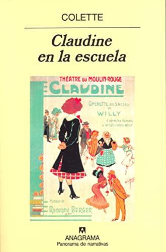 9788433930781: Claudine En La Escuela (Spanish Edition)