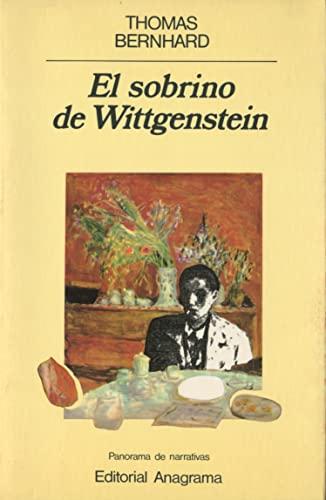 9788433931238: El sobrino de Wittgenstein (Panorama de narrativas)
