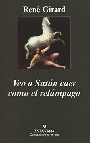 9788433961693: Veo a Satán caer como el relámpago