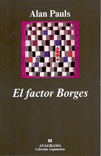9788433962140: Factor Borges