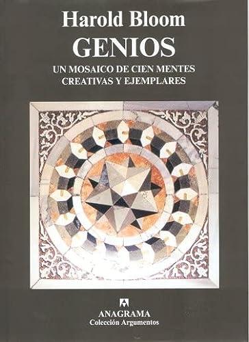 9788433962270: Genios: Un mosaico de cien mentes creativas y ejemplares (Argumentos)