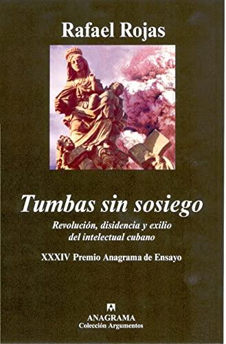 9788433962409: Tumbas sin sosiego (Spanish Edition)