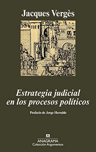 9788433962867: Estrategia judicial en los procesos políticos
