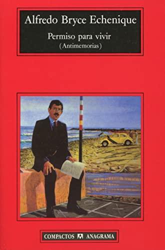 9788433966209: Permiso para vivir (Compactos Anagrama) (Spanish Edition)