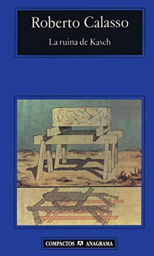 9788433966780: La ruina de Kasch (Compactos)