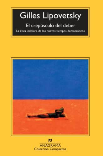 9788433967954: El Crepusculo del Deber (Spanish Edition)