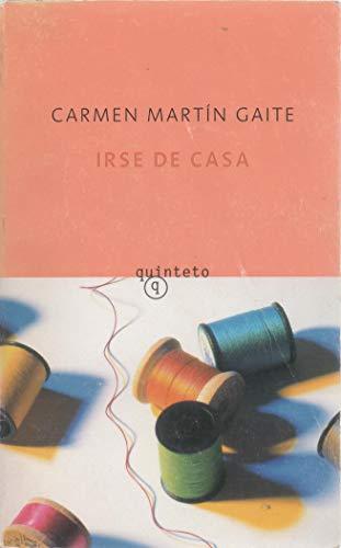 9788433968173: Irse de casa (Quinteto Bolsillo)
