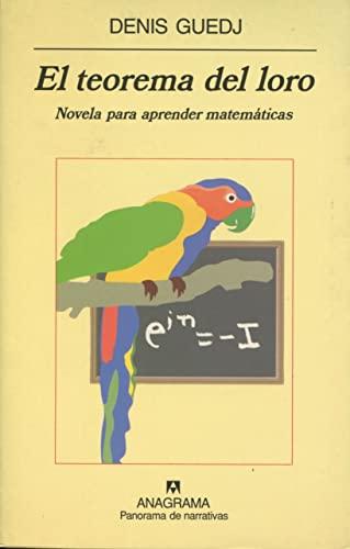 9788433969088: El teorema del loro (Panorama de narrativas)