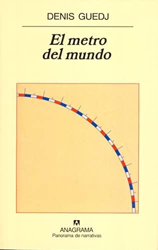 9788433970183: El metro del mundo (Panorama de narrativas) (Spanish Edition)