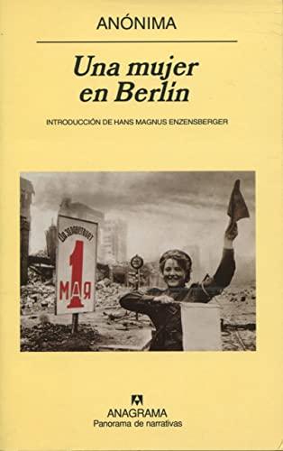 9788433970800: Una Mujer En Berlin (Spanish Edition)