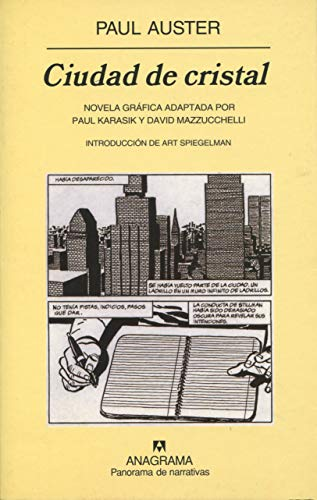 9788433970831: Ciudad de cristal: Novela gráfica (Panorama de narrativas)