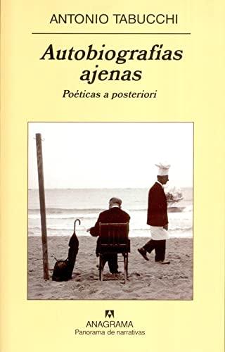 9788433970992: Autobiografias ajenas (Panorama de Narrativas) (Spanish Edition)