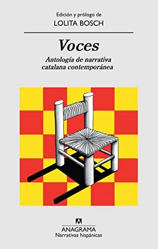 9788433972170: Voces: Antología de narrativa catalana contemporánea (Narrativas hispánicas)
