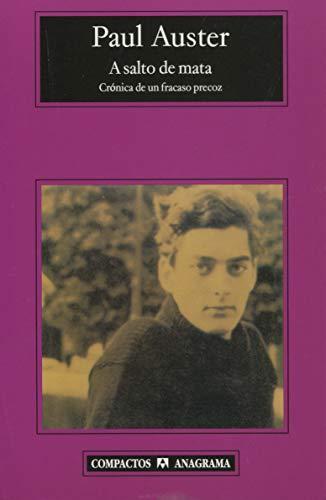 9788433972453: A salto de mata: cronica de un fracaso precoz (Spanish Edition)