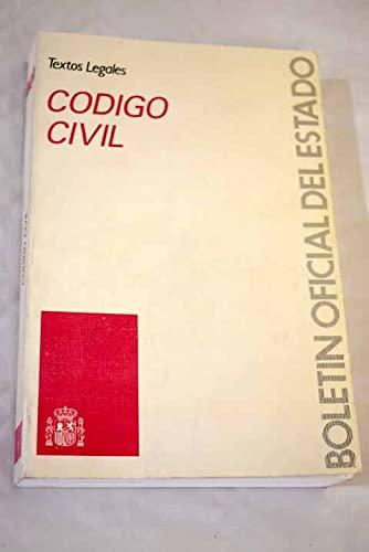 9788434004306: Código civil (Colección Textos legales) (Spanish Edition)