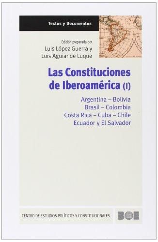 9788434018723: Las Constituciones de Iberoamérica (Vols. I y II): 2 (Textos y Documentos (CEPC))