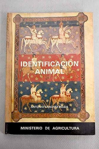 Identificación animal: Antonio Sánchez Belda