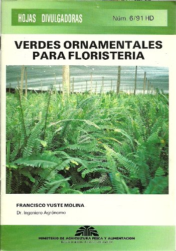 9788434107465: Verdes Ornamentales para Floristeria
