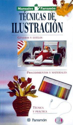 9788434223301: Manuales parramón técnicas de ilustración (Spanish Edition)