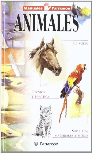 9788434224698: ANIMALES. Manuales parramon (Spanish Edition)