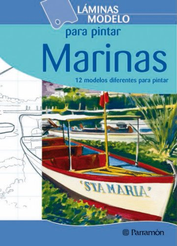 9788434226227: Marinas / Nauticals: 12 modelos diferentes para pintar / 12 different patterns to paint (Spanish Edition)