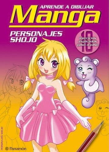 9788434232013: PERSONAJES SHOJO (Aprender a dibujar manga)