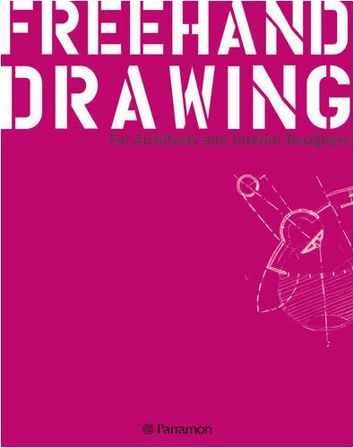 9788434233287: Freehand Drawing: For Architects and Interior Designers
