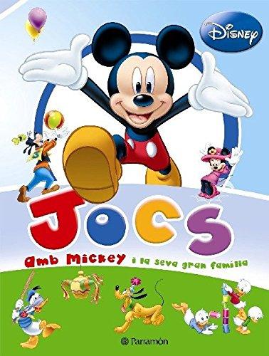 9788434233867: Jocs Amb Mickey I La Seva Gran Familia