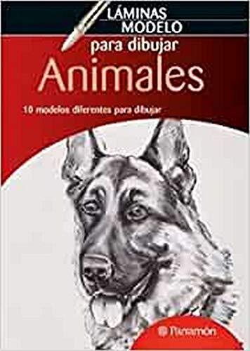 9788434236578: LAMINAS MODELO PARA DIBUJAR ANIMALES (Láminas modelo para dibujar)