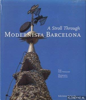 9788434308794: A Stroll Through Modernista Barcelona (Architecture)