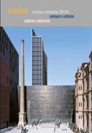 9788434312432: Barcelona. Arquitect. Contemporània 1979-2010 (Arquitectura)