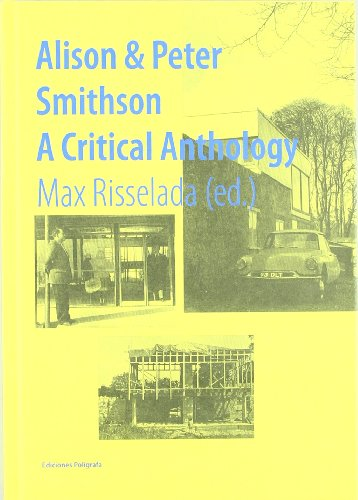 9788434312548: Alison & Peter Smithson: A Critical Anthology