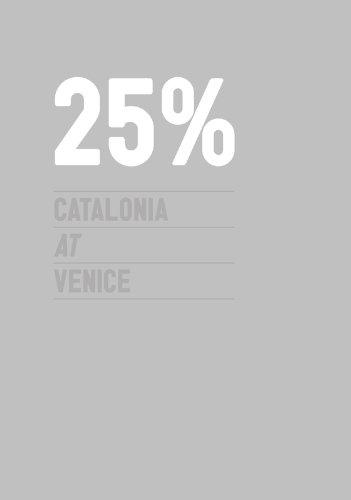 25% Catalonia at Venice: A Project for: Jordi Ballo [Paperback]