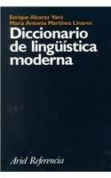 9788434405103: Diccionario de lingüística moderna (Ariel Referencia)