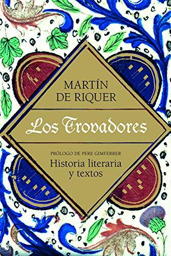 Los trovadores (9788434405479) by Martín de Riquer